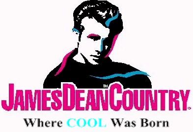 james dean fairmount sign where cool was born